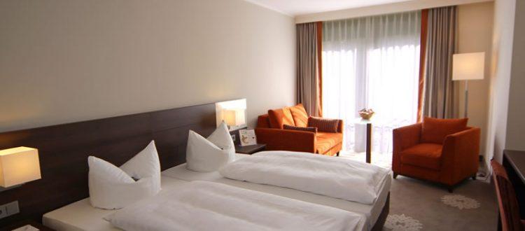 Dreibettzimmer Komfort im Parkhotel Wittekindshof: Das famiilienfreundliche Zimmer